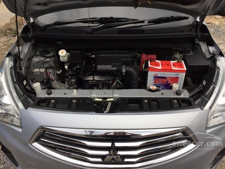 2015 Mitsubishi Attrage GLX Sedan