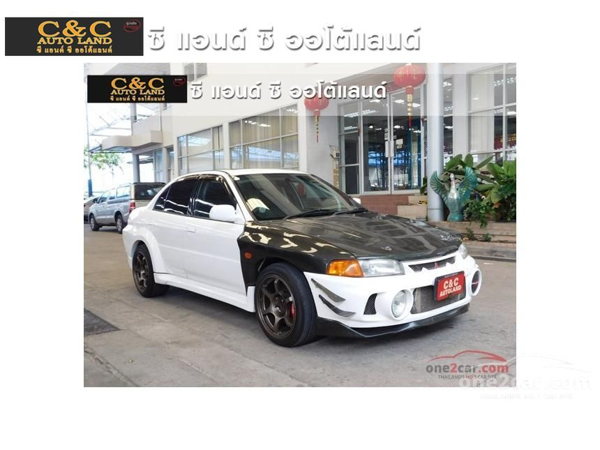 1996 Mitsubishi Evolution IV Sedan