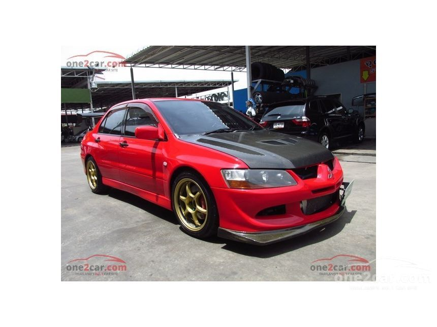 2002 Mitsubishi Evolution VII Sedan