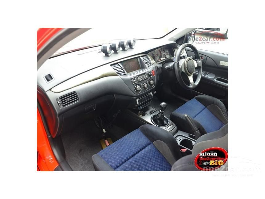 2004 Mitsubishi Evolution VII Sedan