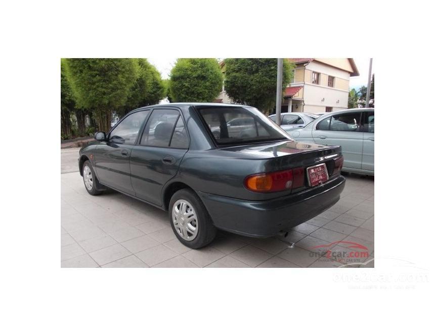 1996 Mitsubishi Lancer GLX Sedan