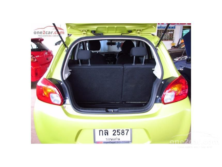 2012 Mitsubishi Mirage GLX Hatchback