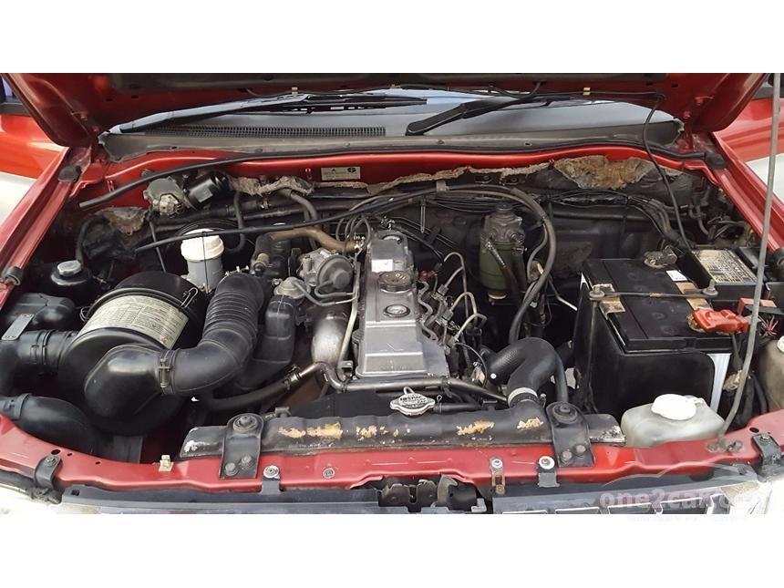 2002 Mitsubishi Strada Grandis Pickup