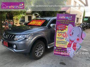 2018 Mitsubishi Triton 2.4 MEGA CAB (ปี 14-19) GLS-Limited Plus Pickup MT