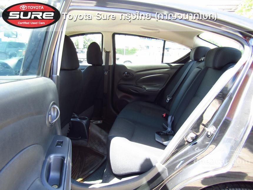 2012 Nissan Almera E Sedan