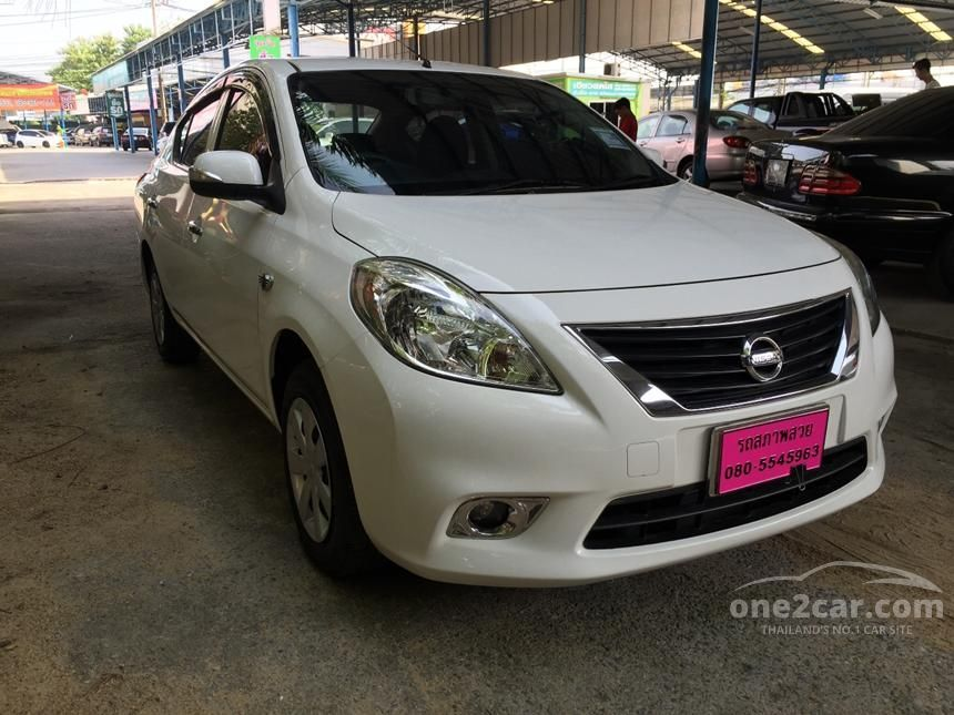 2012 Nissan Almera ES Sedan