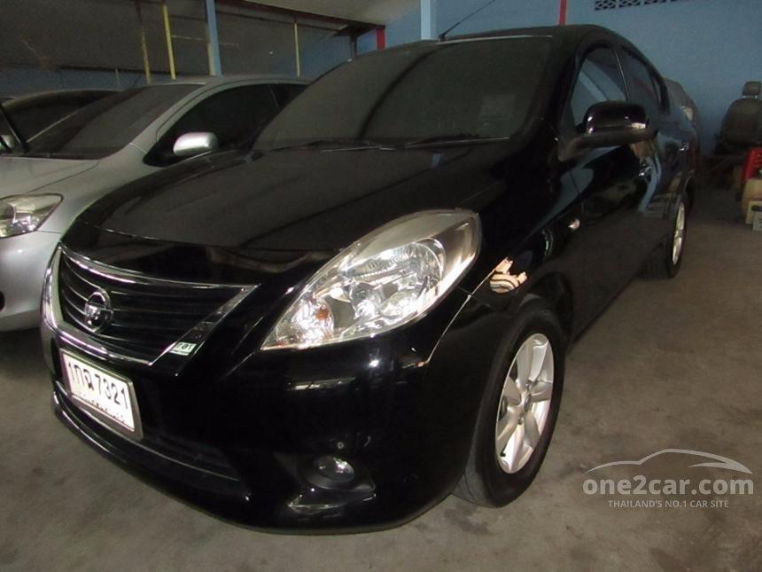 2012 Nissan Almera VL Sedan