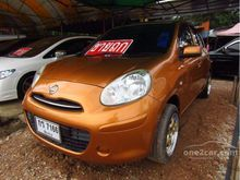 2010 Nissan March (ปี 10-16) E 1.2 MT Hatchback