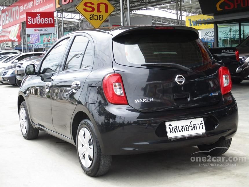 2015 Nissan March E Hatchback