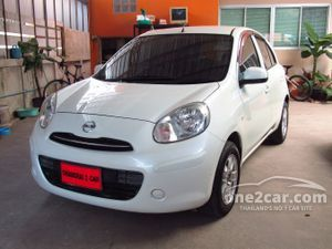 2010 Nissan March 1.2 (ปี 10-16) E Hatchback AT