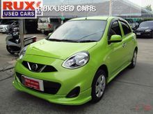 2015 Nissan March (ปี 10-16) E 1.2 AT Hatchback