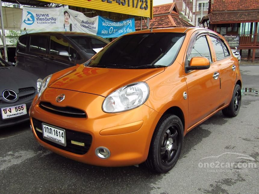 2010 Nissan March EL Hatchback
