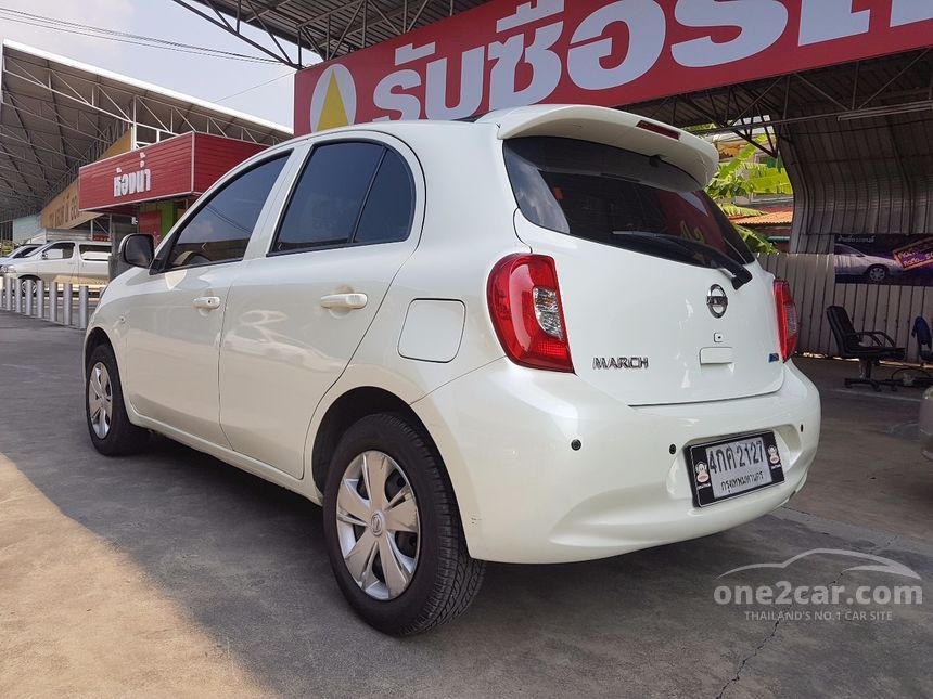 2013 Nissan March EL Hatchback