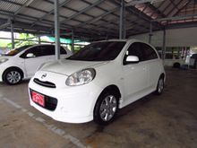 2011 Nissan March (ปี 10-16) V 1.2 AT Hatchback