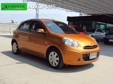 2010 Nissan March (ปี 10-16) V 1.2 AT Hatchback