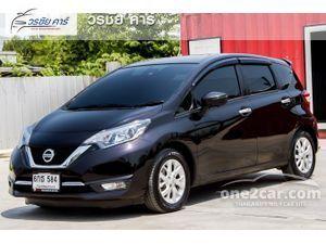 2017 Nissan Note 1.2 (ปี 17-21) VL Hatchback AT