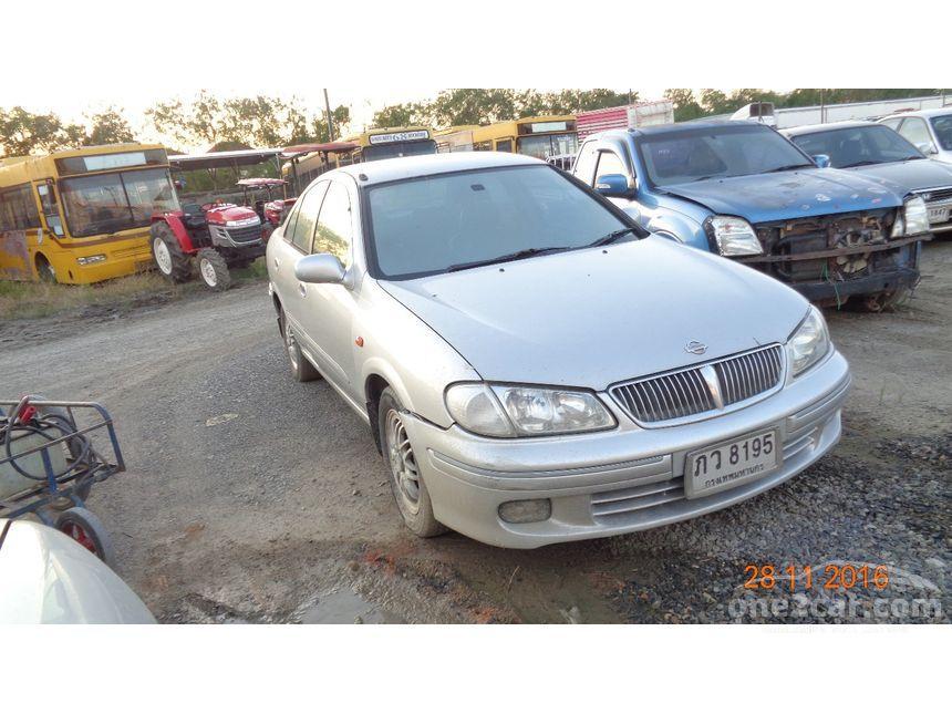 2001 Nissan Sunny GL Sedan