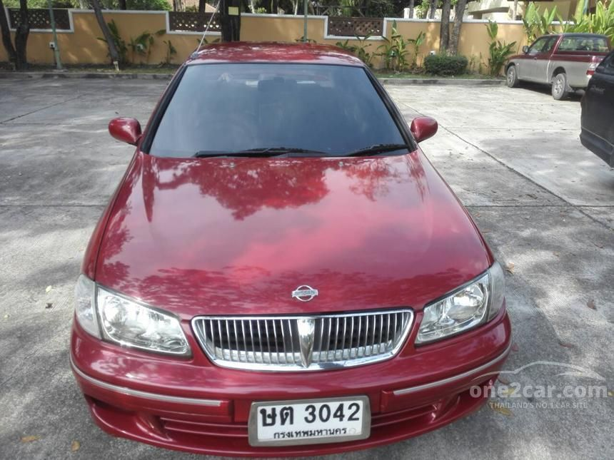 2001 Nissan Sunny Super GL Sedan
