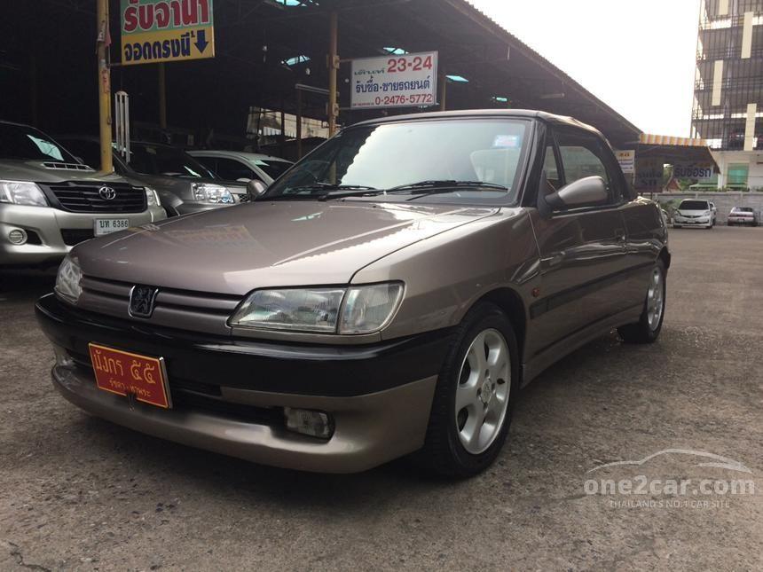 2000 Peugeot 306 Convertible