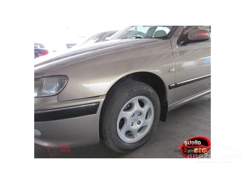 2001 Peugeot 406 STA Sedan