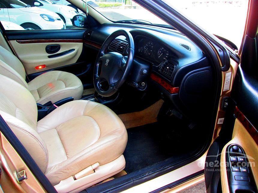 2000 Peugeot 406 STA Sedan