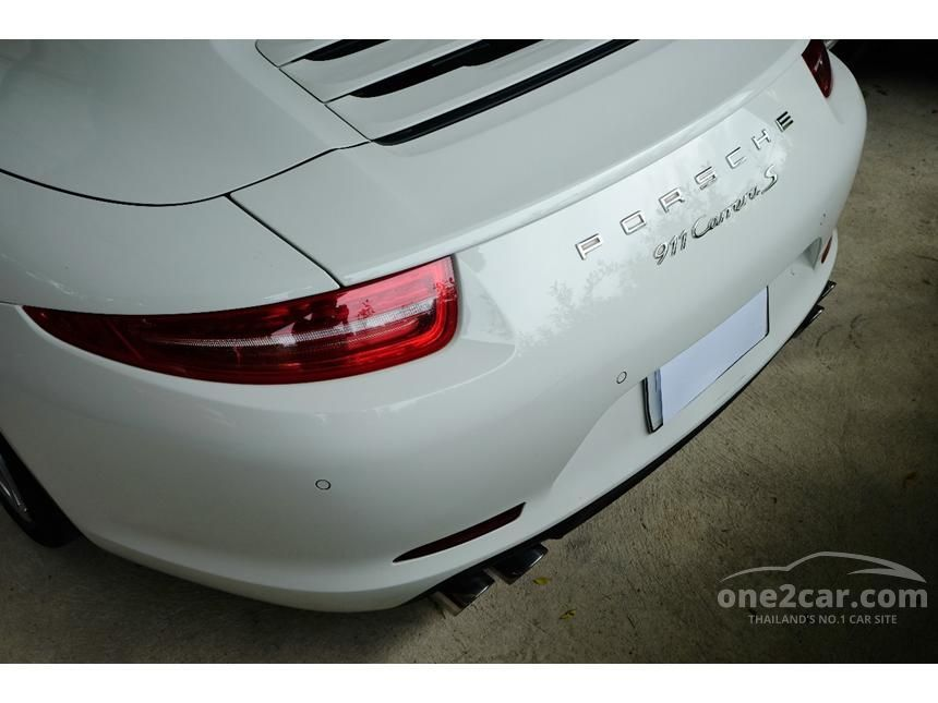 2013 Porsche 911 Carrera S 991 Coupe