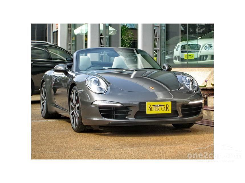 2012 Porsche 911 Carrera S Convertible