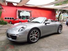 2012 Porsche 911 Carrera S 991 3.8 AT Convertible