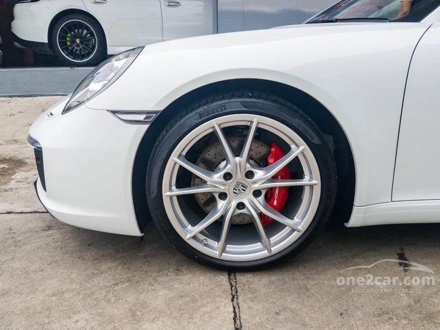 2016 Porsche 911 Carrera S PDK Convertible