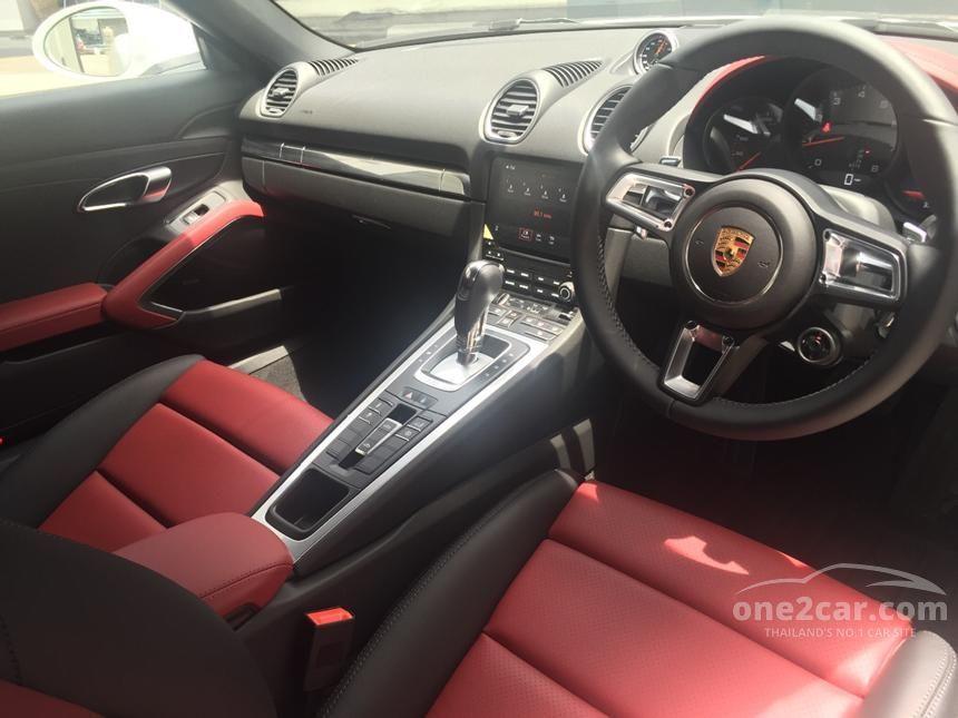 2016 Porsche Boxster Convertible