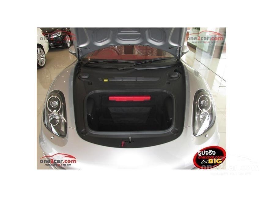2017 Porsche Boxster PDK Convertible