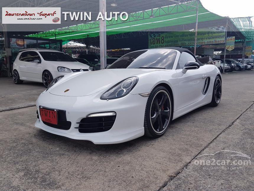 2013 Porsche Boxster PDK Convertible
