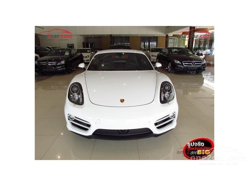 2016 Porsche Cayman PDK Coupe