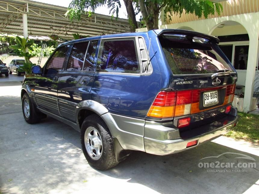 1996 Ssangyong Musso D630 SUV
