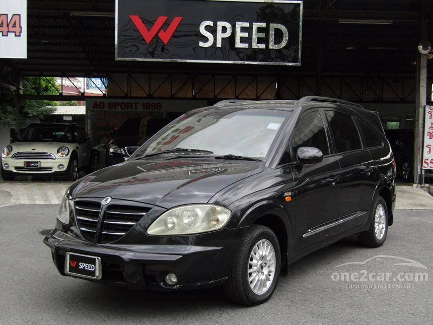 2006 Ssangyong Stavic SV270 Wagon