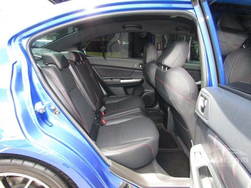 2015 Subaru Impreza WRX Sedan