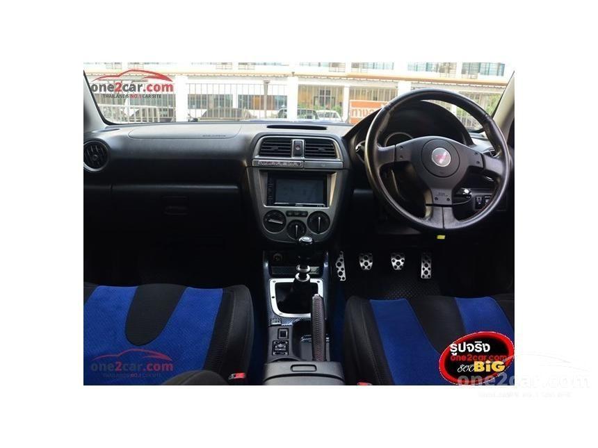 2007 Subaru Impreza WRX Sedan