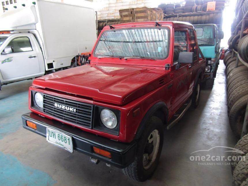 1995 Suzuki Caribian SUV