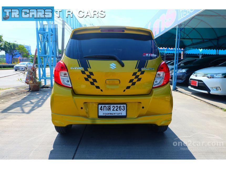 2016 Suzuki Celerio GLX Hatchback