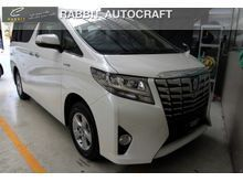 2016 Toyota Alphard (ปี 15-18) HV 2.5 AT Van