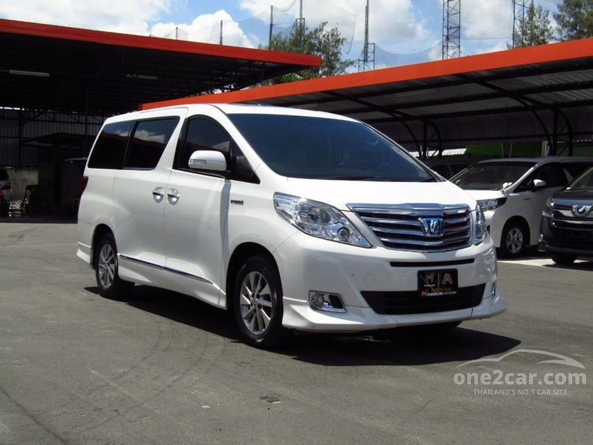 2013 Toyota Alphard HV Van