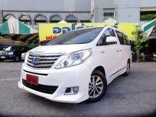 2013 Toyota Alphard (ปี 08-14) HV 2.4 AT Van