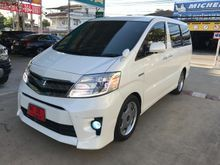2009 Toyota ALPHARD (ปี 08-14) Hybrid E-Four 2.4 AT Van