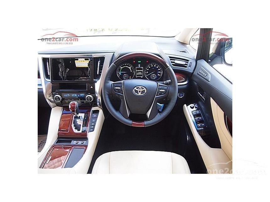 2016 Toyota Alphard HYBRID E-Four Van
