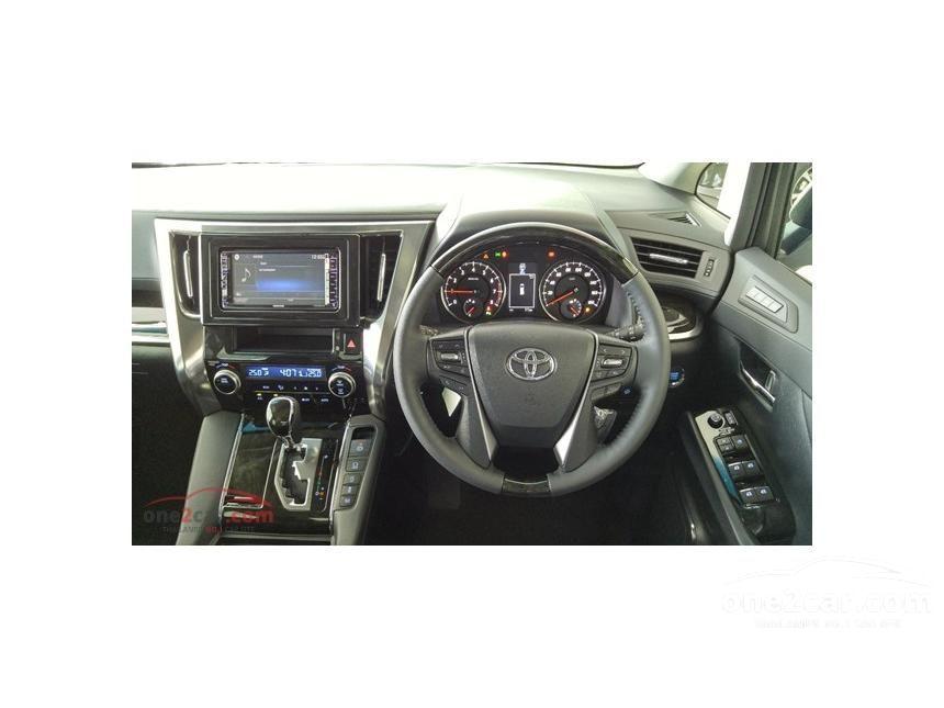 2015 Toyota Alphard S C-Package Van
