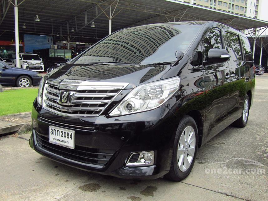 2013 Toyota Alphard V Van