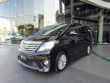 2013 Toyota Alphard (ปี 08-14) V 2.4 AT Van