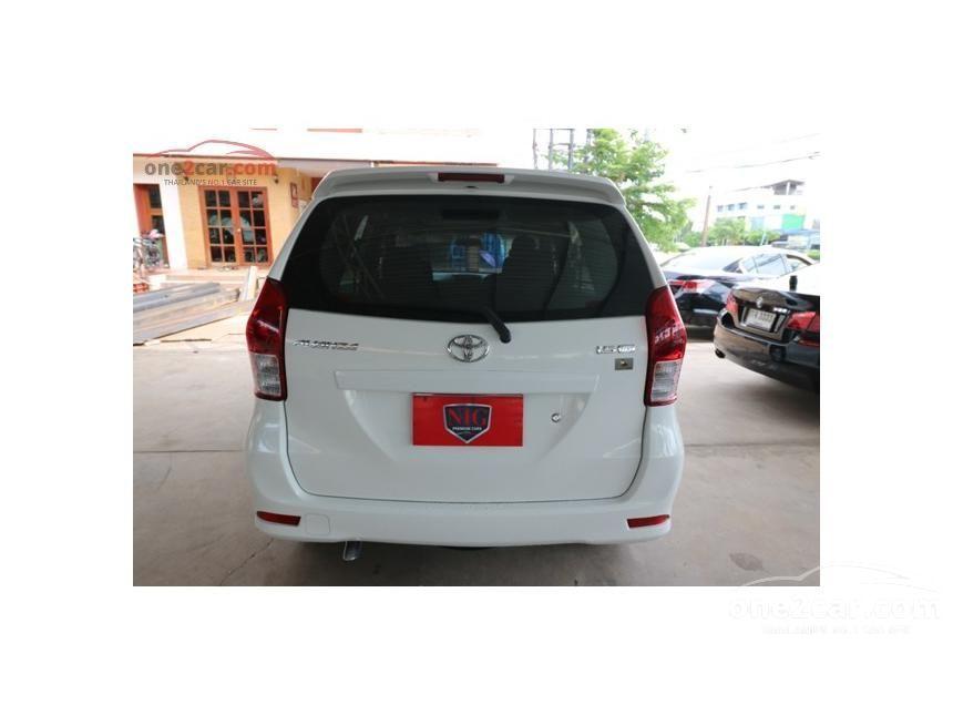 2013 Toyota Avanza G Hatchback