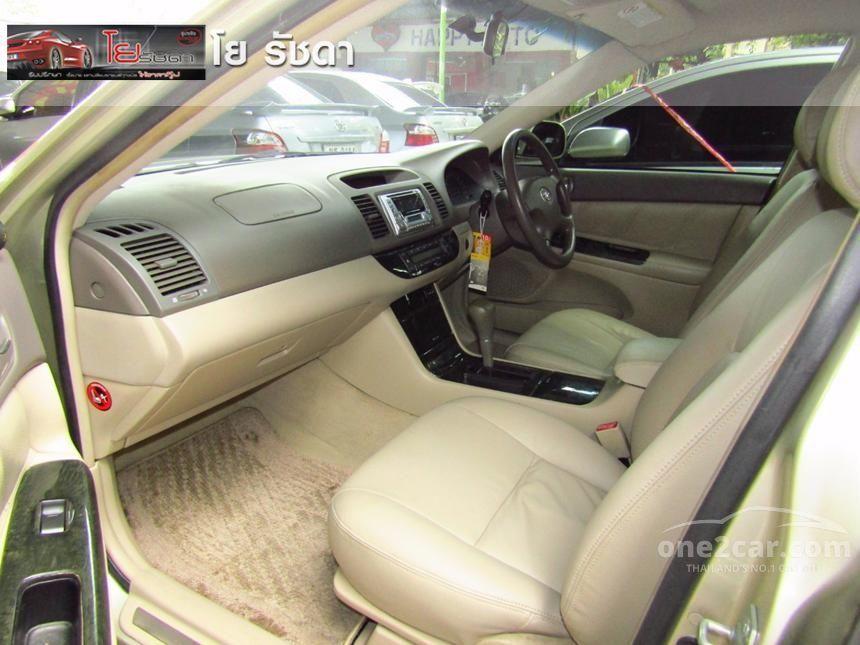 2003 Toyota Camry E Sedan