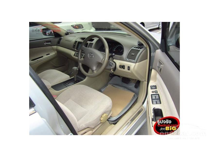 2002 Toyota Camry E Sedan